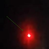 Video: Quả cầu sáng đỏ nghi là UFO ở Pháp