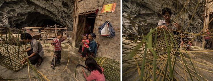 Mỗi tuần, họ sẽ đi bộ và mua những đồ dùng thiết yếu tại khu chợ cách đó 15km.