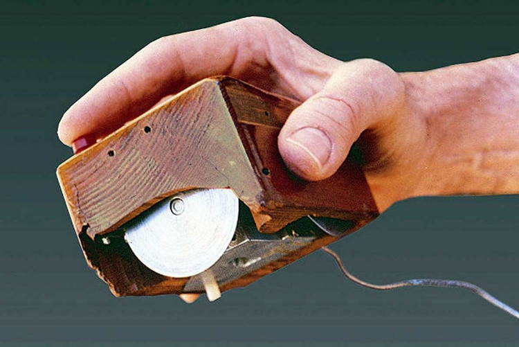 Con chuột ban đầu đặt trong một hộp gỗ cao cấp, to gấp đôi những con chuột ngày nay.