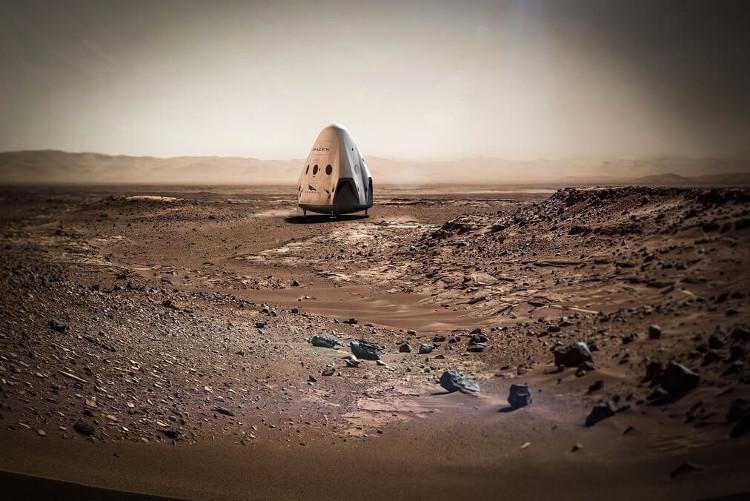 Tàu con thoi của SpaceX sẽ sử dụng động cơ mới.