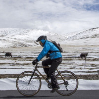 Xe đạp tre chạy nghìn cây số ở Trung Quốc