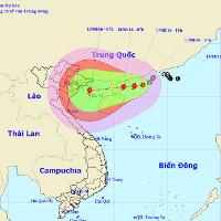 """Tin mới nhất về áp thấp nhiệt đới """"kép"""" trên Biển Đông"""