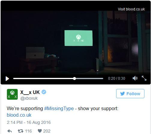 Chữ B, O trong Xbox One cũng không tạm thời bị xóa.