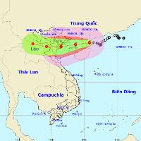 Cơn bão số 3 sẽ quét qua Hà Nội, càng vào gần bờ càng mạnh