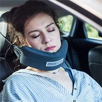 """NodPod - """"Chiếc võng"""" giúp bạn thoải mái ngủ ngồi khi đi máy bay, đi xe..."""