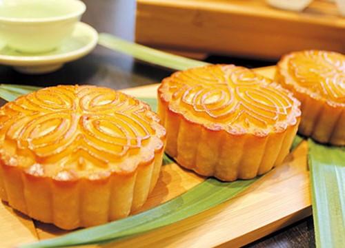 Bánh Trung thu ở Trung Quốc chỉ có bánh nướng, không có bánh dẻo như ở Việt Nam. (