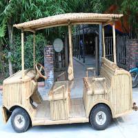 Độc đáo xe điện bằng tre thân thiện với môi trường