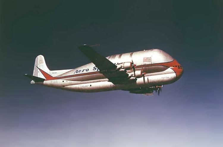 Phiên bản đầu tiên của Guppy được chế tạo trực tiếp từ thân của một chiếc Boeing 377 Stratocruiser – biến thể chở hàng.