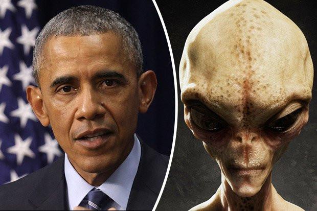 Bản thân Tổng thống Obama cũng đã nhiều lần úp mở về người ngoài hành tinh.