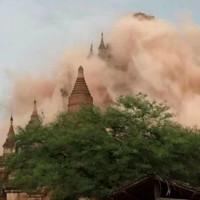 Động đất 6,8 độ Richter ở Myanmar, 100 chùa cổ hư hại