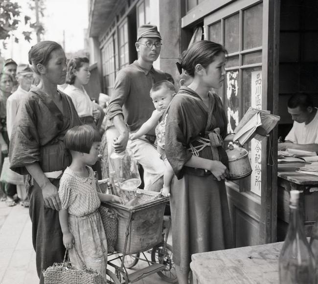 Người dân Nhật thời xưa.