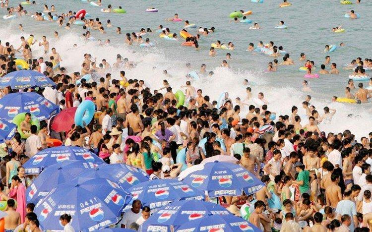Bãi biển tại thành phố Thâm Quyến