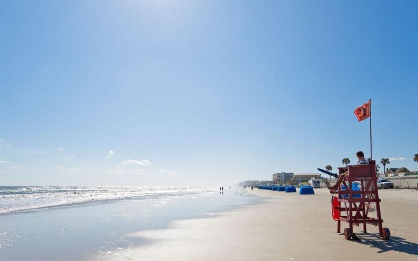 Bãi biển Volusia ở bang Florida (Mỹ)