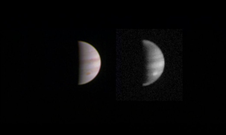 Hình ảnh bề mặt Sao Mộc do tàu thăm dò Juno chụp gửi về ngày 23/8.