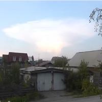 Kỳ lạ đám mây giống nổ bom hạt nhân xuất hiện ở Nga