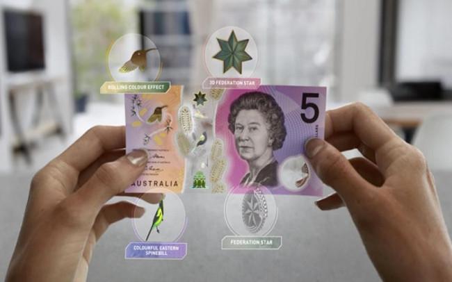 Ngân hàng dự trữ Úc vừa phát hành một tờ 5 Đô-la mới