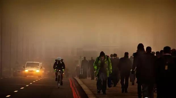 Ô nhiễm không khí là một trong những thủ phạm chính.
