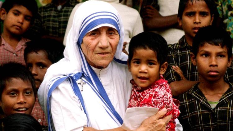 Mẹ Teresa.