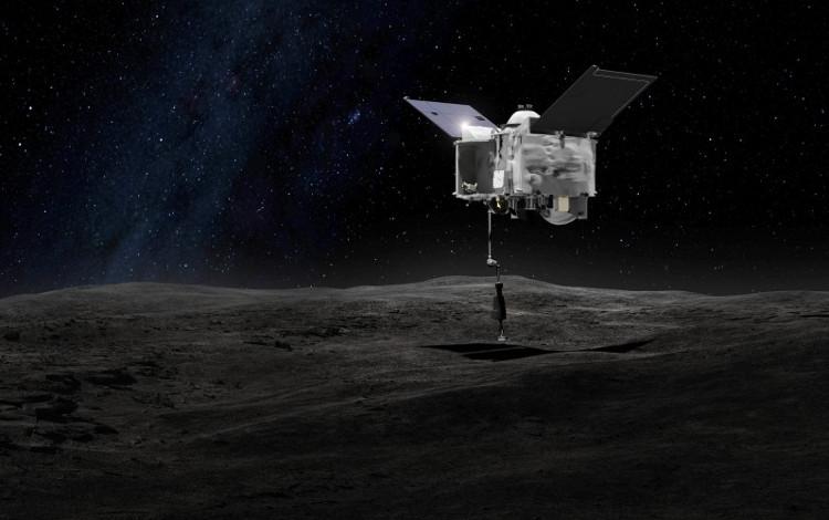 Tàu thăm dò Orisis-Rex sẽ thu thập mẫu vật trên tiểu hành tinh Bennu.