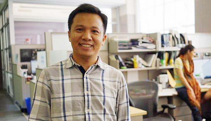 TS Vũ Thành Long tại Học viện Công nghệ Massachussets.