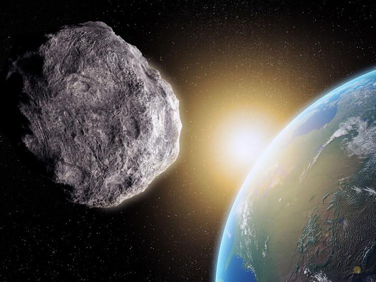 Tiểu hành tinh tiến gần đến Trái Đất.