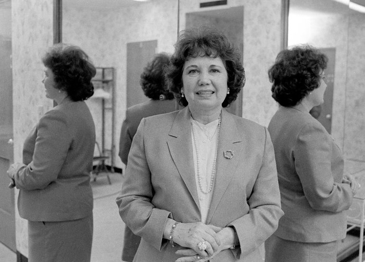 "Christine ""Chris"" Costner Sizemore vào năm 1983."