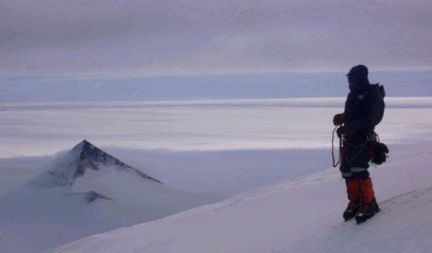 Người thám hiểm Nam Cực.