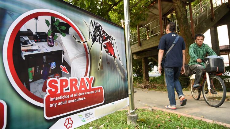 Số trường hợp nhiễm Zika ở Singapore lên gần 100 người.