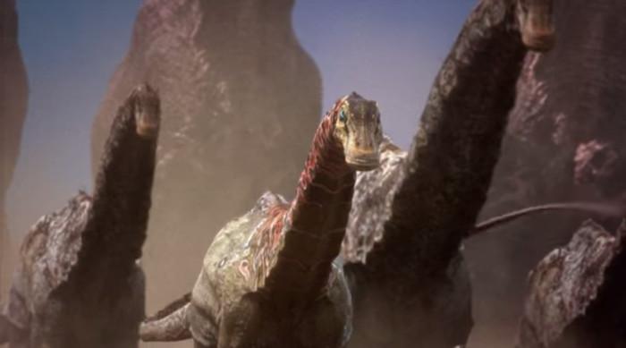 Loài khủng long lớn nhất thế giới lại là loài ăn cỏ.