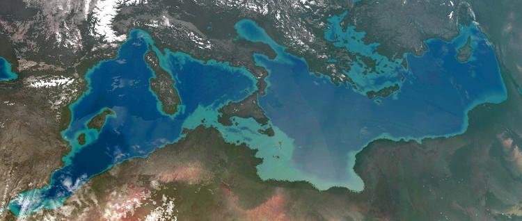 Đồ họa mô phỏng châu Âu và châu Phi sau khi hợp nhất.