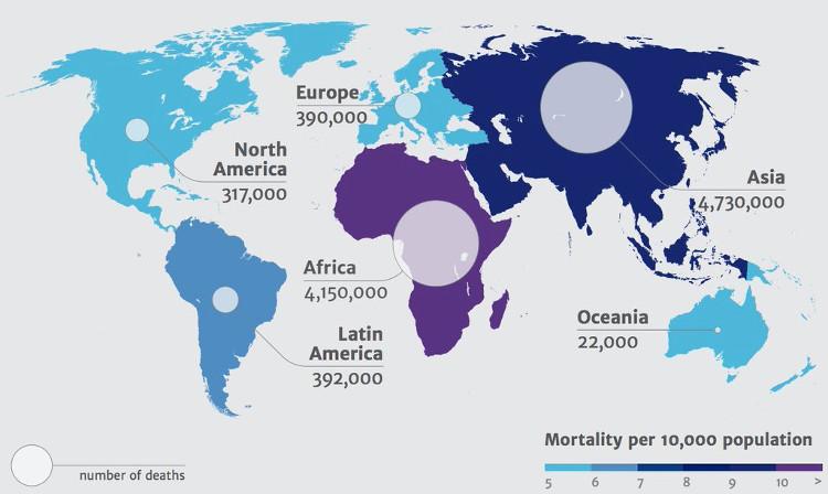 Dự đoán sẽ có 10 triệu người sẽ chết vì kháng kháng sinh năm 2050.