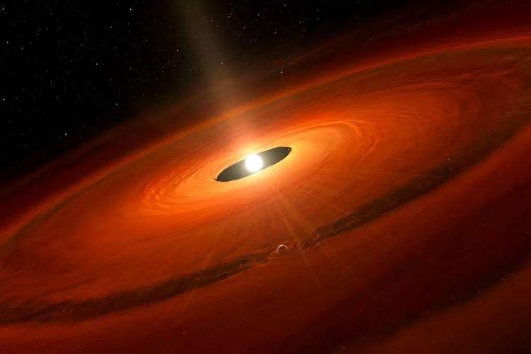 Hành tinh khổng lồ có thể hình thành trong đám mây bụi xung quanh sao TW Hydrae.