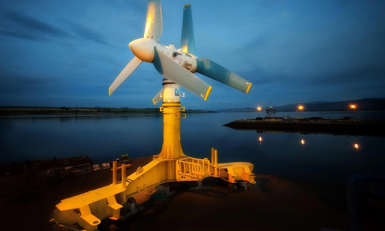 The world's first large-scale tidal power plant