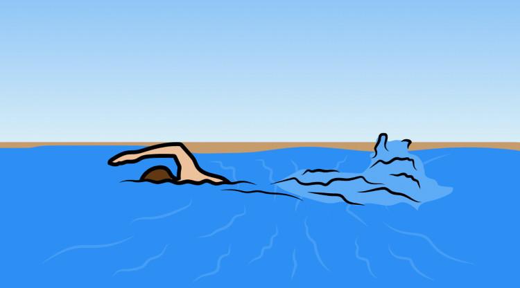 Có nhiều kiểu dòng chảy xa bờ, quan trọng là không được bơi ngược lại dòng chảy.