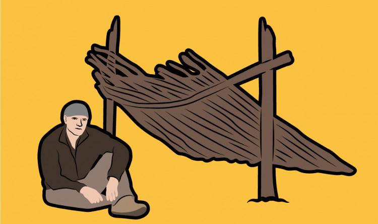 Nơi có mái che giúp bạn tránh gió và một số yếu tố khác nhưng có thể không đủ mang lại hơi ấm.