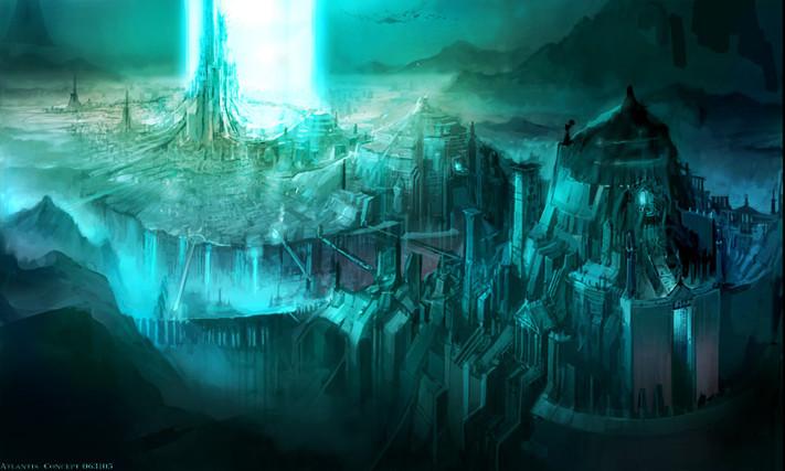 Berlitz cho rằng năng lượng tinh thể của Atlantis là thủ phạm khiến tàu bè bị đắm bí ẩn