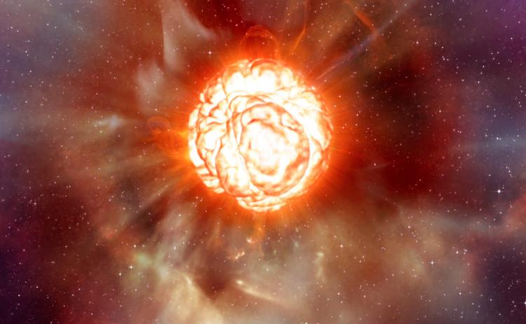 Khí nóng của Mặt trời bao phủ vươn tới hành tinh sao Hỏa, nuốt chửng sao Kim và sao Thủy.