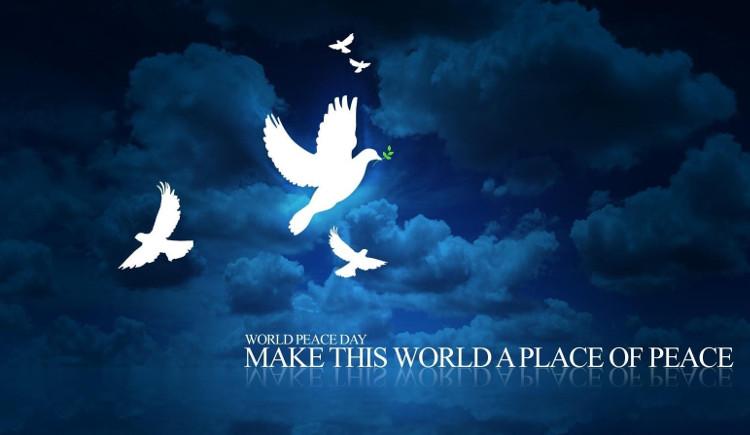 Ngày quốc tế hòa bình được dành để kỷ niệm và củng cố các lý tưởng hòa bình giữa tất cả các quốc gia và các dân tộc...