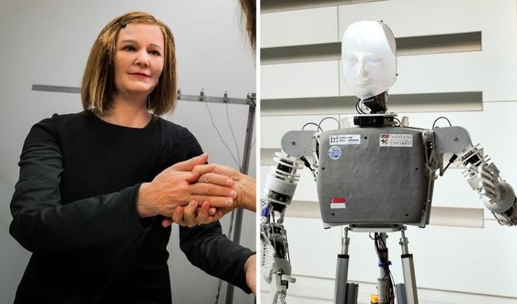 Những robot này như những người thầy cô giáo, cũng như những vú nuôi cho các em.
