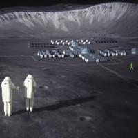 Phi hành gia Nga luyện tập đổ bộ xuống Mặt Trăng