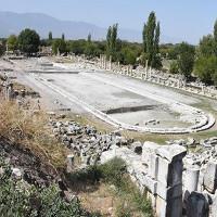 Hồ bơi khổng lồ ở thành phố La Mã cổ