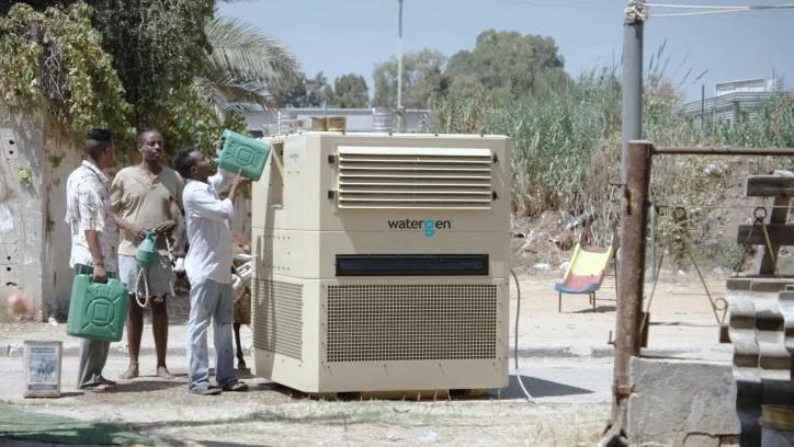 Máy tạo nước từ không khí của Water-Gen.