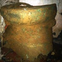 Đào móng nhà, phát hiện trống đồng cổ 2 ngàn năm tuổi