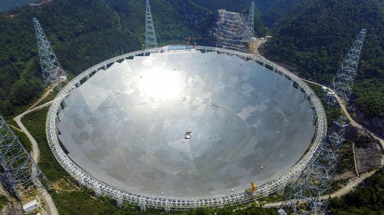 Kính thiên văn Thiên Nhãn đã bắt đầu hoạt động từ hôm 25/9.