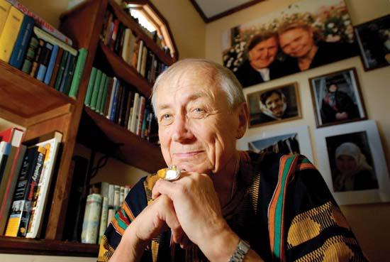 Nhà thơ Nga nổi tiếng Evgeny Evtushenko.