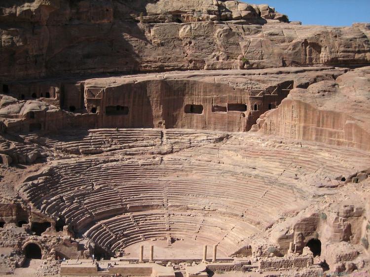 Kiến trúc tại Petra rất tinh xảo.
