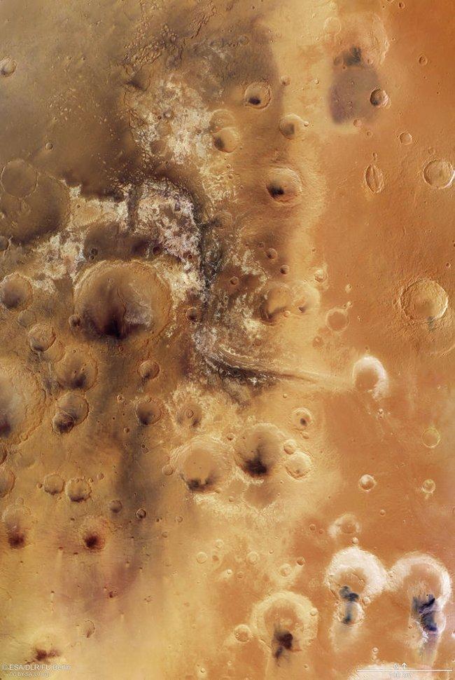 Hình ảnh mới về thung lũng Mawrth Vallis.