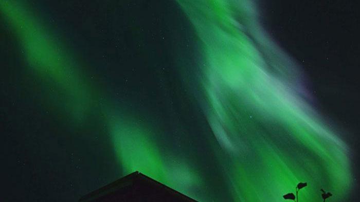 Hiện tượng cực quang Borealis hay còn gọi là Ánh sáng Phương Bắc.