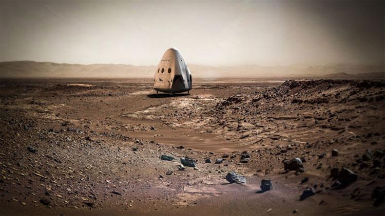 Chiếc phi thuyền không người lái đang được SpaceX nghiên cứu với sự hỗ trợ kĩ thuật từ NASA.Chiếc phi thuyền không người lái đang được SpaceX nghiên cứu với sự hỗ trợ kĩ thuật từ NASA.