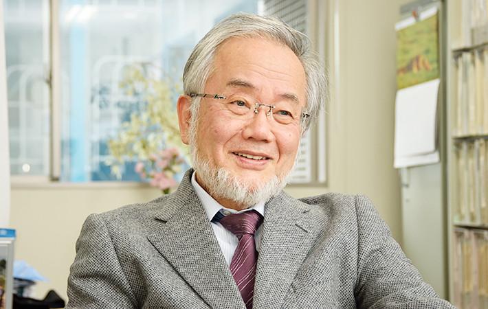 Ông Yoshinori Ohsumi.